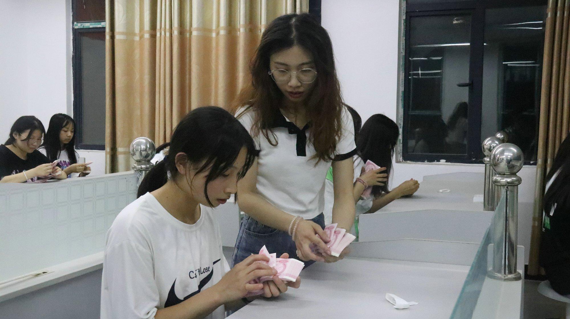学生实践操作